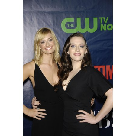 Beth Behrs Kat Dennings At Arrivals For The Tca Television Critics Association Annual Summer Soiree Pacific Design Center Los Angeles Ca July 17 2014 Photo By Michael GermanaEverett Collection Celebri