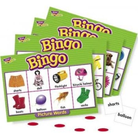Life Picture Bingo - Trend Picture Words Bingo Game - Educational - 3 To 36 Players (tep-6063)
