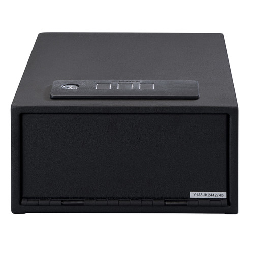 Stack-On Quick Access Safe with Electronic Lock, Black