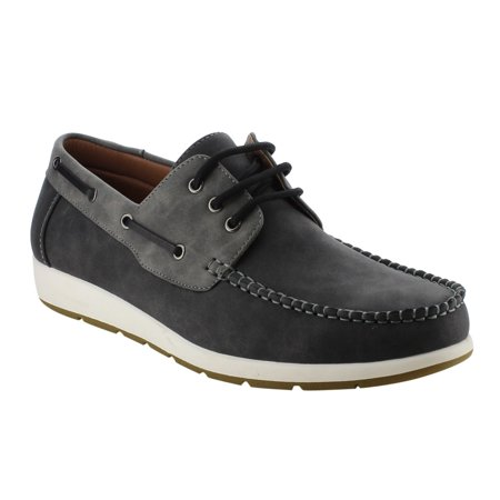 Arider Ag63 Mens Moc Toe Boat Shoes Lace Up Casual Oxfords