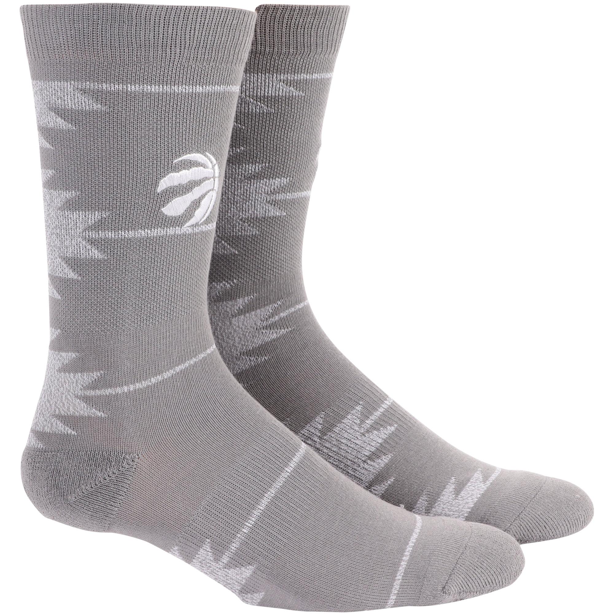 Toronto Raptors Geo Crew Socks - L