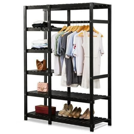 how to build shelves for clothes closet