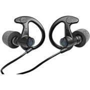 EP10 30dB NRR, Sonic Defender Ultra Max Earplugs, Black, Med