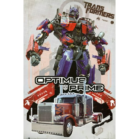 Rare Concert Poster (Transformers Poster Optimus Prime Rare Hot New)
