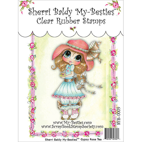 "My Besties Clear Stamps 4"" x 6"", Gypsy Rose"