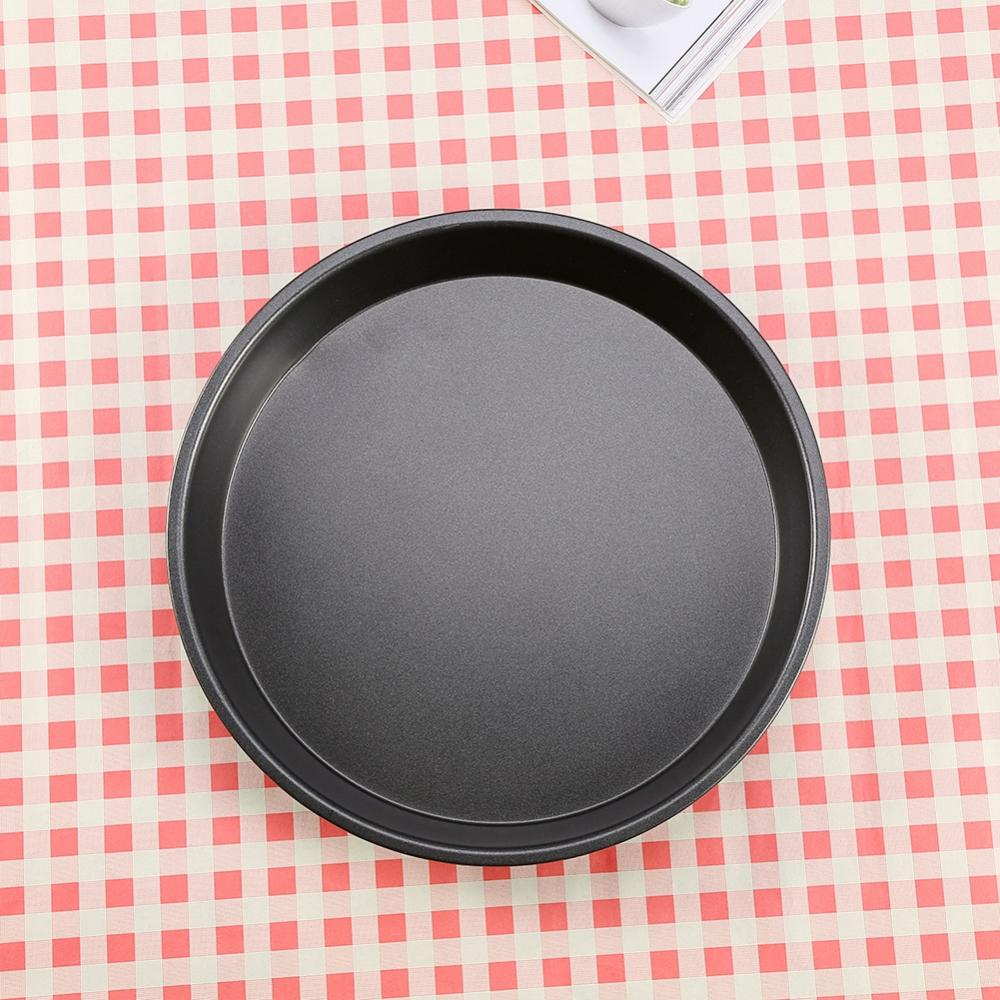 12 Inch New Round Oven Tray PIZZA PAN-Non Stick PIZZA TRAY  Carbon Steel Baking