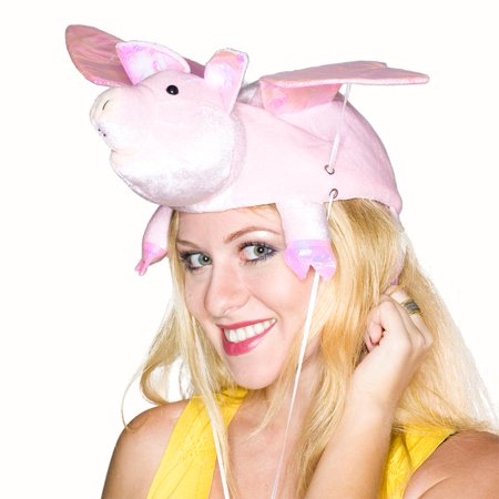 Flapping Wing Pig Hat - Pig Hat
