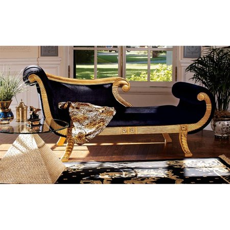 Enjoyable Design Toscano Cleopatra Neoclassical Chaise Gmtry Best Dining Table And Chair Ideas Images Gmtryco