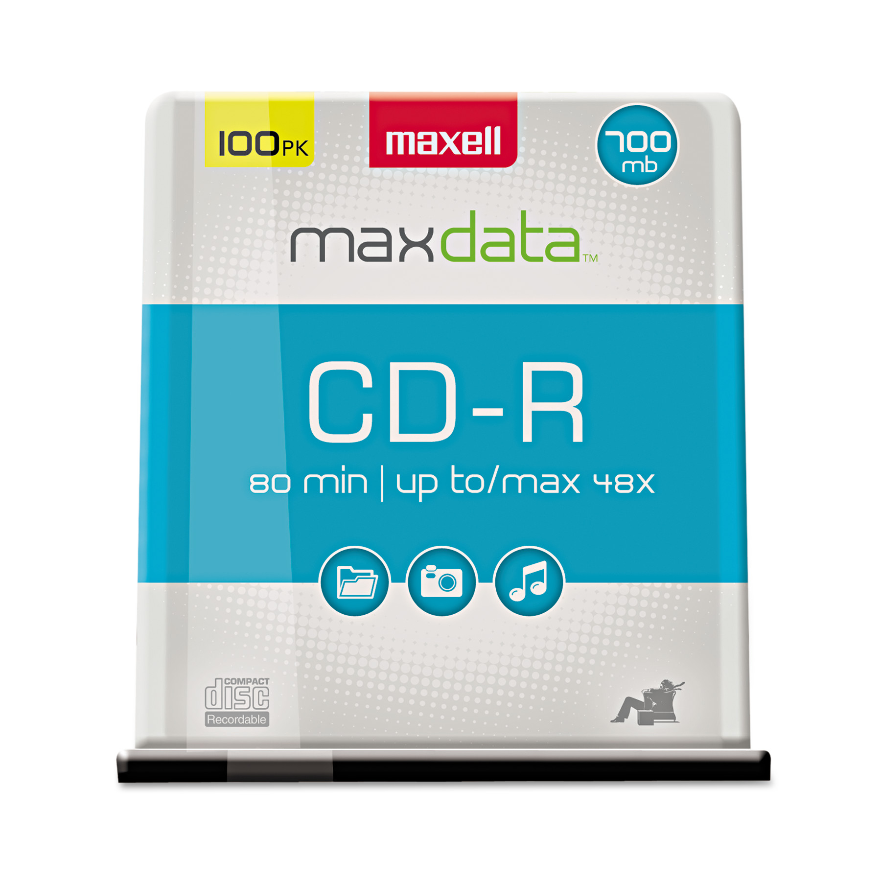 Verbatim dvd rw 4 7gb 4x with branded surface 30pk spindle 4 7gb - Maxell Cd R Discs 700mb 80min 48x Spindle Silver
