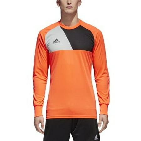 - adidas men's soccer assita 17 goalkeeper jersey, solar red/stone/black, 2x-large
