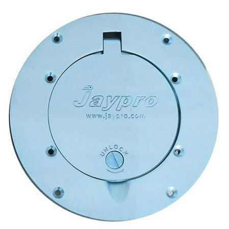 Jaypro Sports PVB-75CVR-CP Chrome Cover Plate for 75-70