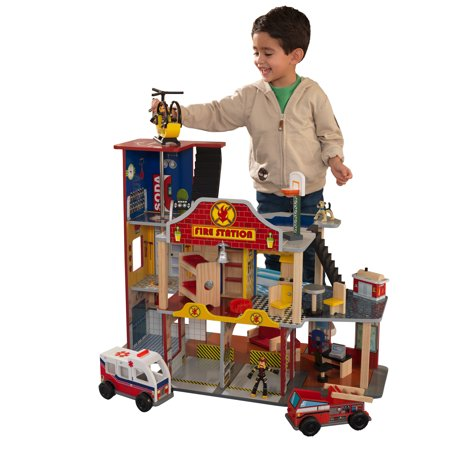 KidKraft Deluxe Fire Station Set