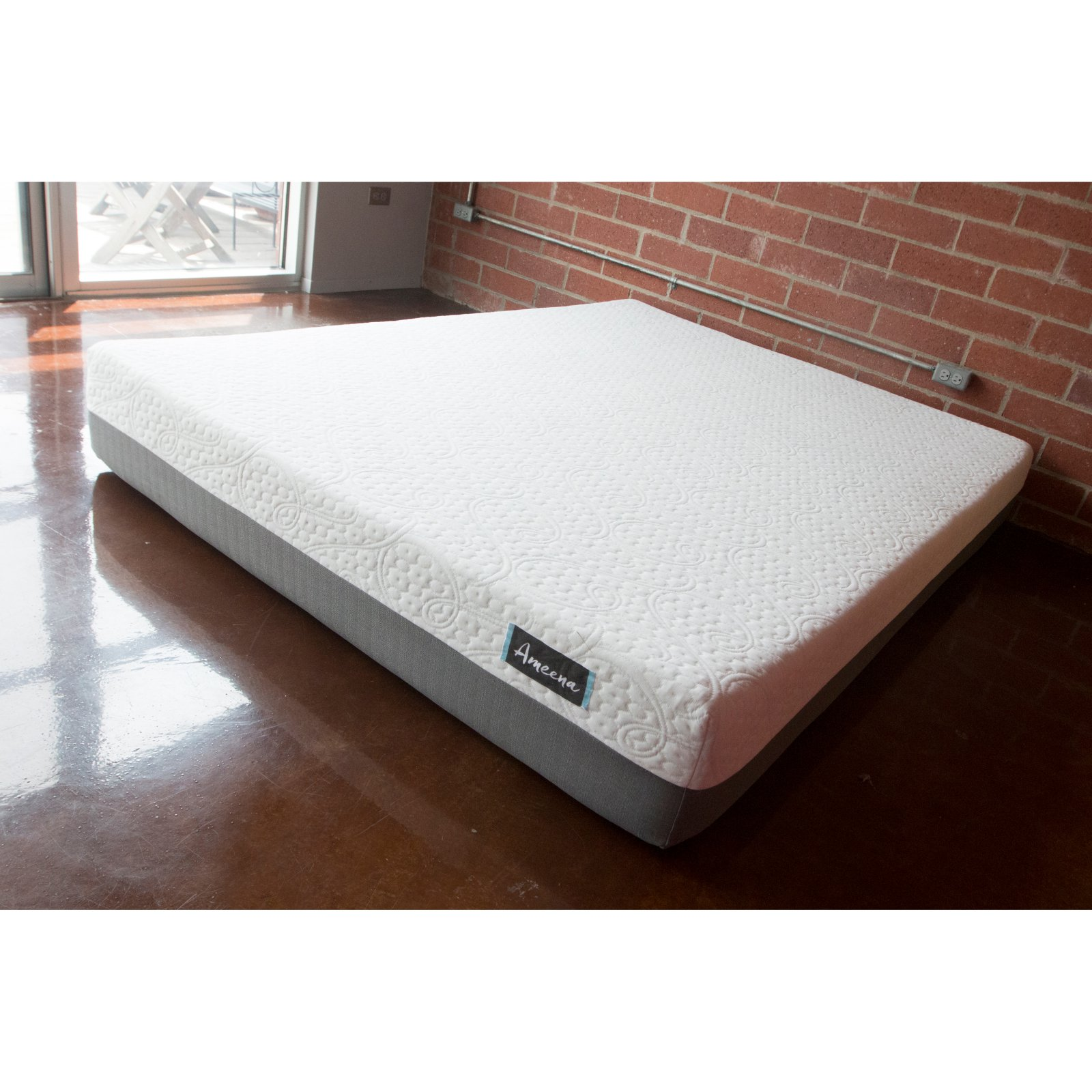 Ameena 10 in. Gel Memory Foam Mattress