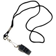 Tandem Pea-Less Whistle And Lanyard