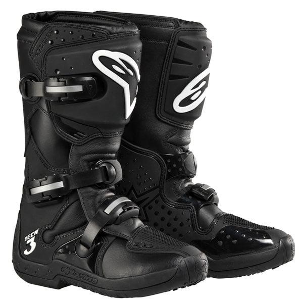 Alpinestars Stella Tech 3 Womens MX Boots Black