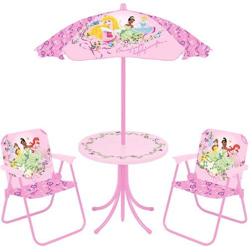 Disney Princess Dream From The Heart 4 Piece Patio Set Walmart Com