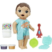 Baby Alive Super Snacks Snackin Luke - Brunette Hair