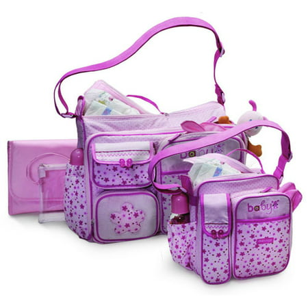 Baby Boom Child Of Mine Diaper Bag Combo Pink
