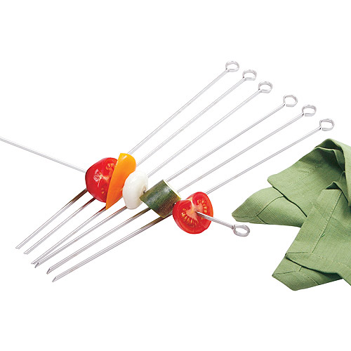 "Norpro 1934 6 Count 14"" Stainless Steel Skewers"