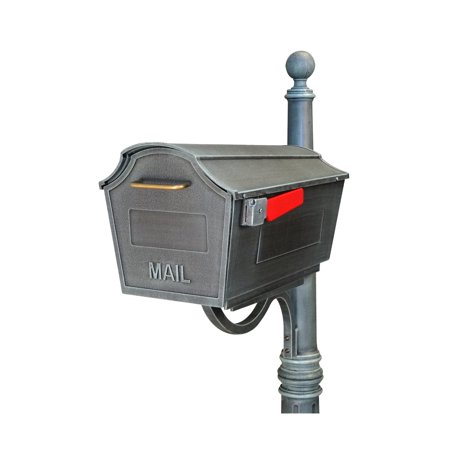 Special Lite Products Town Square Curbside Post Mount Mailbox