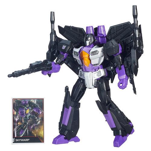 Transformers Generations Leader Class Skywarp Figure by Hasbro