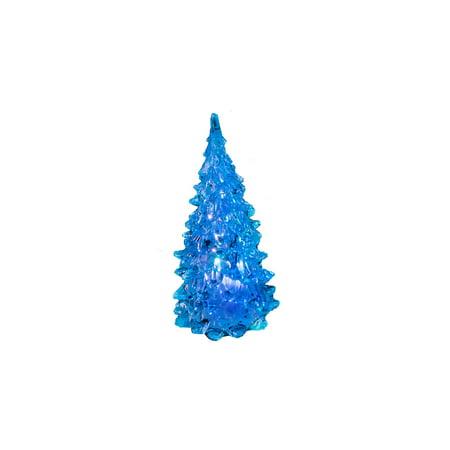 Blue Pine Trees (Blue Light-Up 5