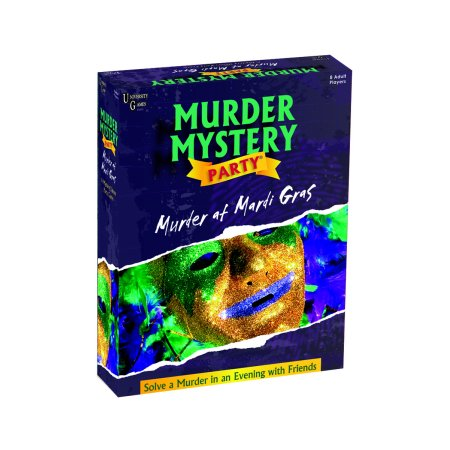 Murder At Mardi Gras Murder Mystery Party - Halloween Party Mystery Games