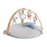 Ingenuity Cozy Spot Duvet Activity Gym with Self-Storage, Machine Washable Mat - Loamy, Ages Newborn +