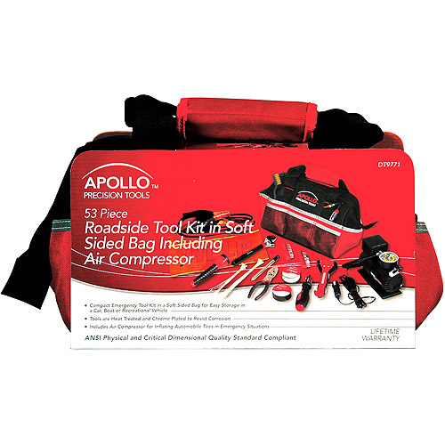 Apollo 53-Piece Roadside Emergency Kit