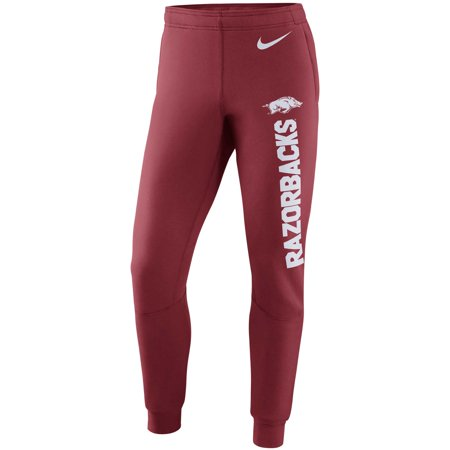 Arkansas Razorbacks Nike Tapered Stadium Pants - Cardinal