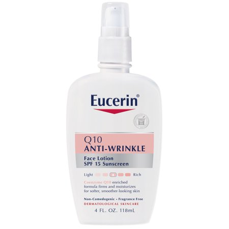 Eucerin Q10 Anti-Wrinkle Sensitive Skin Face Lotion 4 fl.
