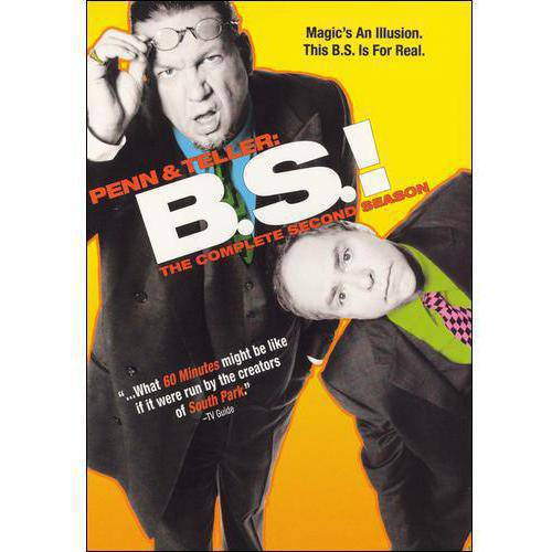 Penn & Teller: B.S.!: The Complete Second Season (Full Frame)
