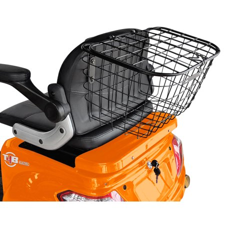 T4B LU-500W Mobility Electric Recreational Outdoors Scooter 48V20AH with Three Speeds, 14/22/32kmph - Orange - image 5 de 14