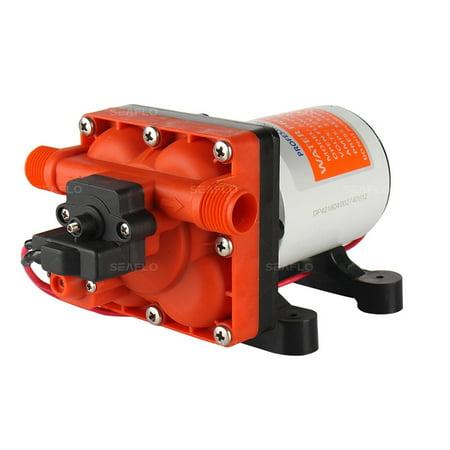 SEAFLO 42-Series Water Pressure Diaphragm Pump - 12V DC, 3.0 GPM, 55 PSI for RV/Boat/Marine