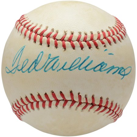 Ted Williams Boston Red Sox Autographed Vintage Toned Baseball - PSA V04980 - Fanatics Authentic Certified - Williams Autograph Baseball