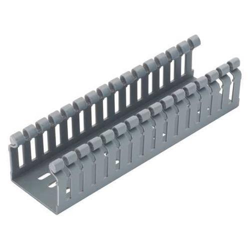 PANDUIT HN3X4LG6 WiringDuct,Narrow,3.25x4.1In,6Ft,Gray