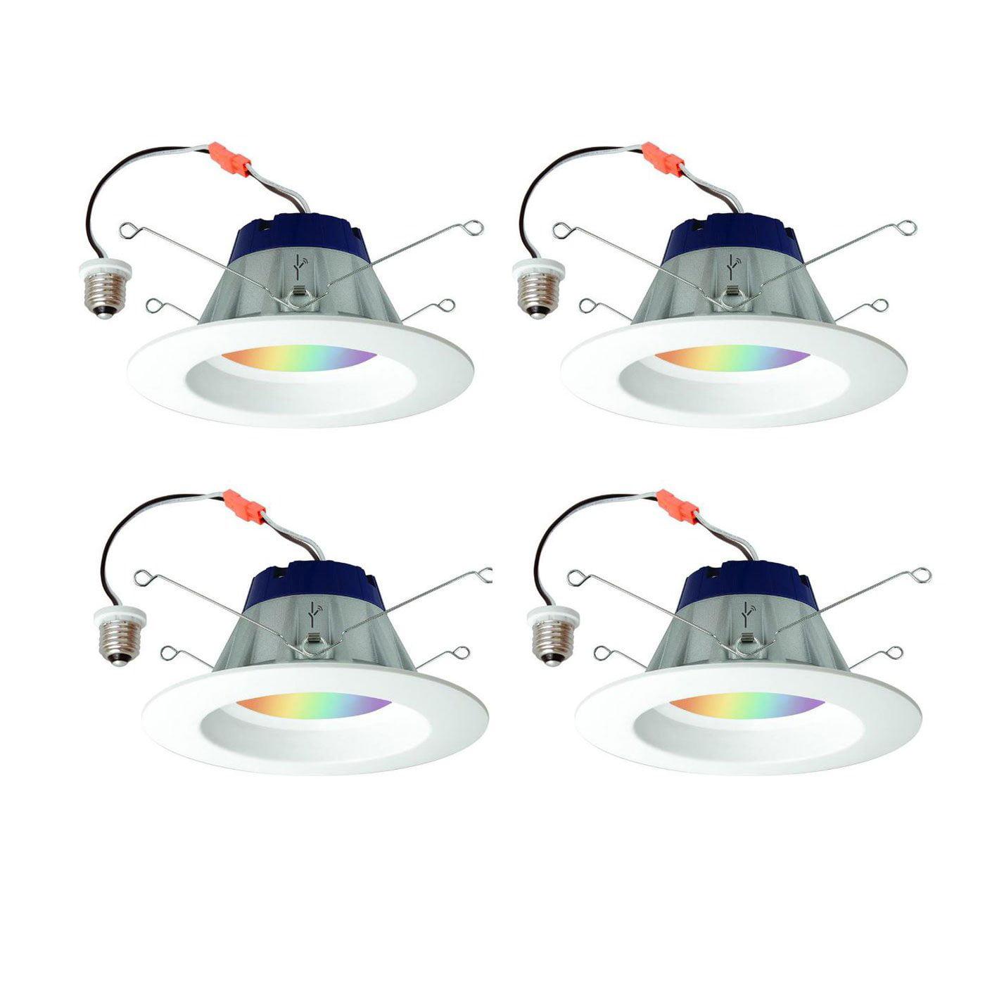 Sylvania Lightify 65W LED Smart Home Wifi Daylight White Light Bulb (4 Bulbs)