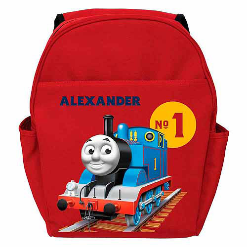 Personalized Thomas & Friends Kids Backpack - Red