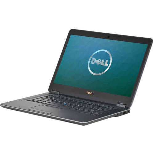 "Refurbished Dell Latitude E7440 14"" Laptop, Windows 10 Pro, Intel Core i5-4300U Processor, 8GB RAM, 256GB Solid State Drive"