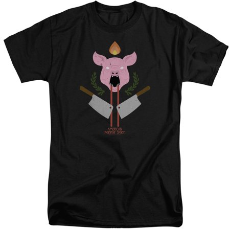 American Horror Story Pig Cleavers Mens Adult Big And Tall Shirt