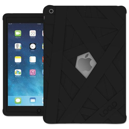 iPad Mummy Case for iPad Air, Silicone, Black