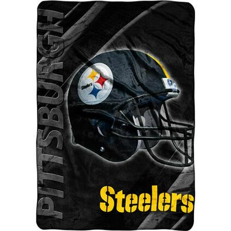 NFL Pittsburgh Steelers Micro Raschel Blanket - Walmart.com 725d2ef82