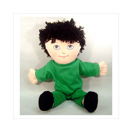 Childrens Factory Dolls Asian Boy Doll Sweat Suit