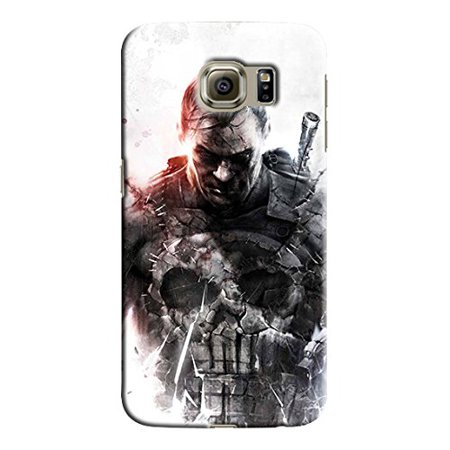 Ganma Punisher Deadpool Logo Case For Samsung Galaxy S6 Hard Case Cover