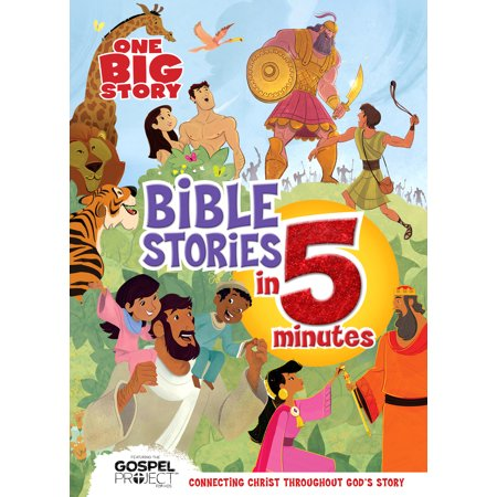 One Big Story Bible Stories in 5 Minutes (padded) : Connecting Christ Throughout God's Story