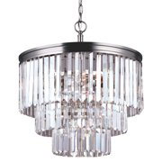Sea Gull Lighting 3114004 Carondelet 4 Light 3 Tier Chandelier