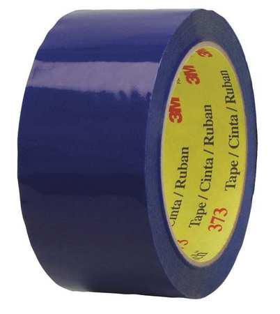Carton Sealing Tape,Blue,48mm x 50m SCOTCH 373