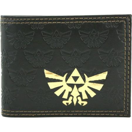 Nintendo Legend Of Zelda Twilight Princess Embossed Bifold Wallet (Calfskin Embossed Wallet)