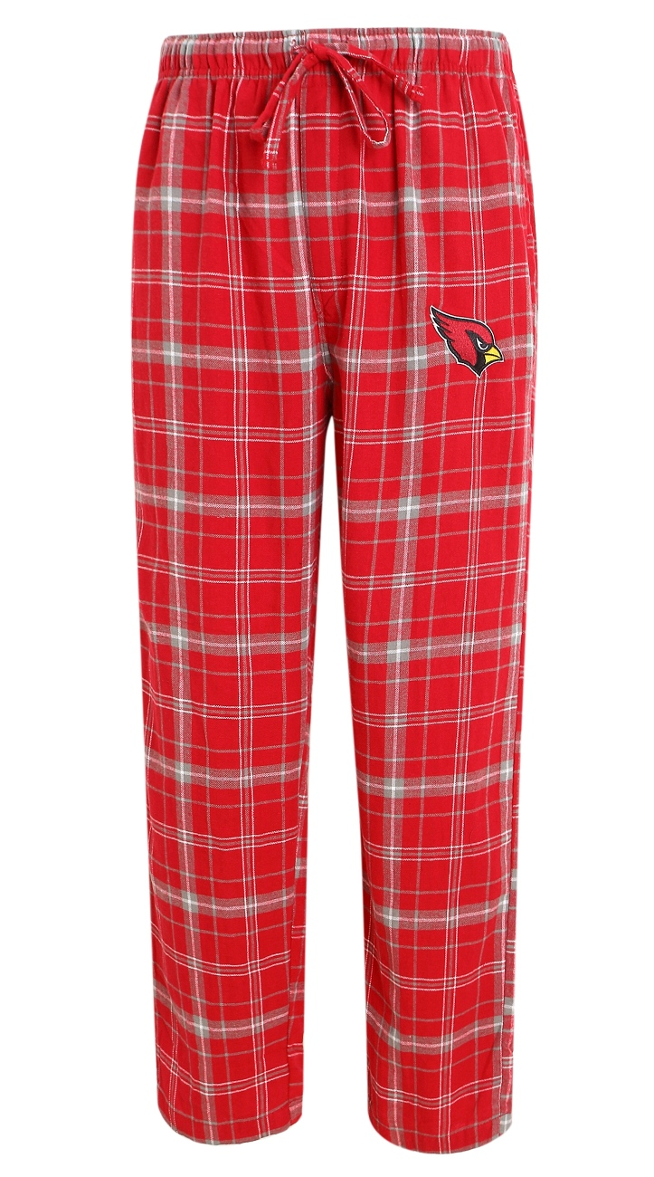 """Arizona Cardinals NFL """"Ultimate"""" Men's Flannel Pajama Pants by Concept Sports"""