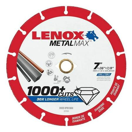 Lenox 3602026 Cutoff Wheel Diam AG - CS 7 x 0.87 in. - image 1 of 1